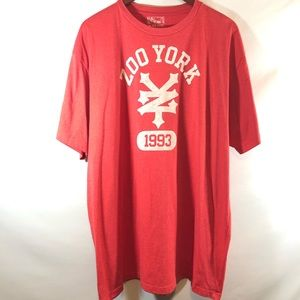 Zoo York 1993 red T shirt sz XXL